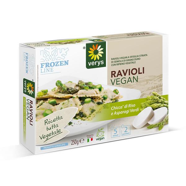 Ricetta Ravioli Vegan.Ravioli With Chicca And Green Asparagus Verys